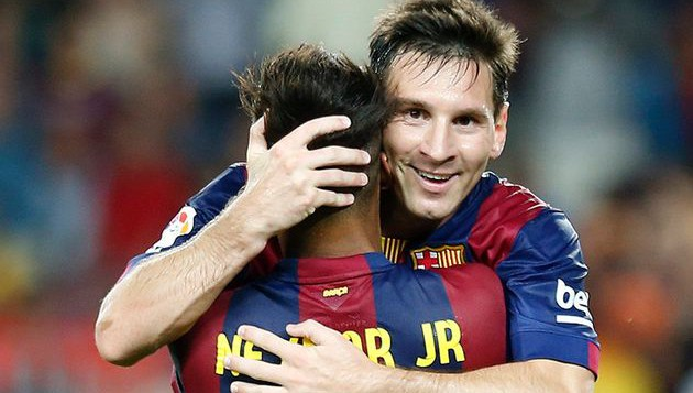 Messi, Neymar fit for Barca's La Liga game against Bilbao