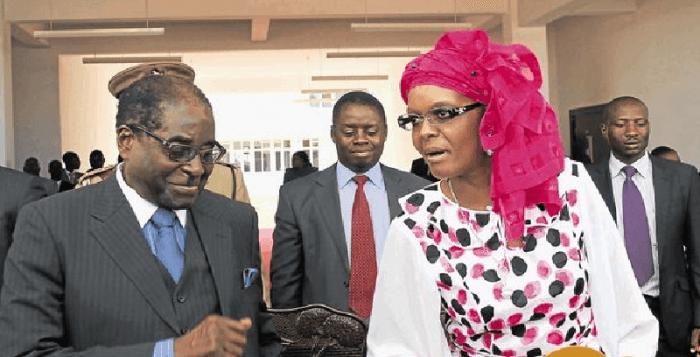 Zimbabwe's first lady Grace Mugabe on Thursday announced her candidacy ...