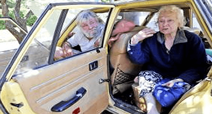 Homeless 77 Year Old Pensioner Living In A Car