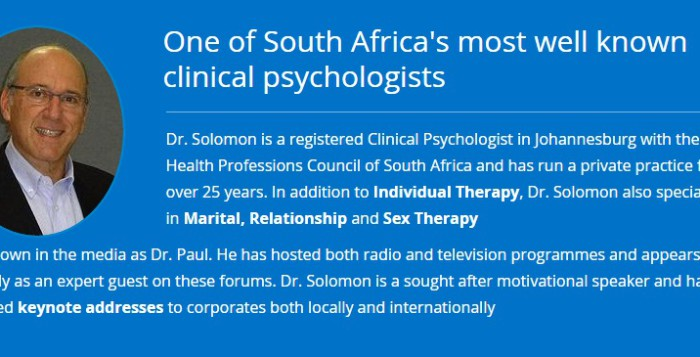 Sex Therapist Johannesburg