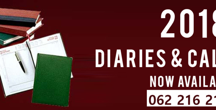 2018 Diaries Printing For Sale South Africa