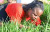 Grass Eating and Petrol Drinking Pastor Makes The Headlines Again After Making Congregants Eat Flowers