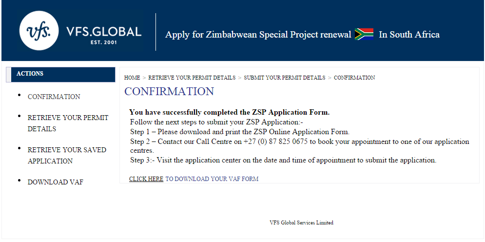 Application Form For ZSP | Top South African News