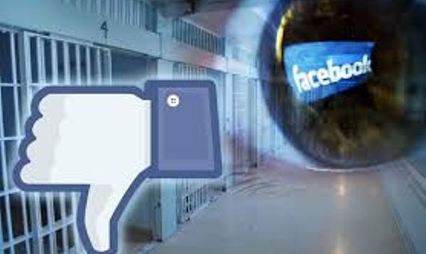 Facebook behind bars